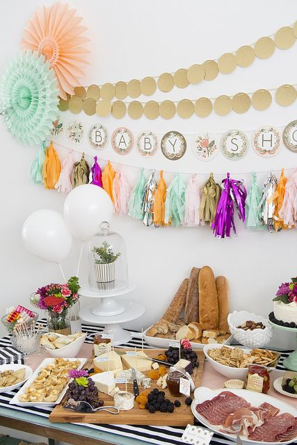 French baby shower