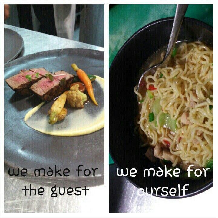 Chef's life... oh god!