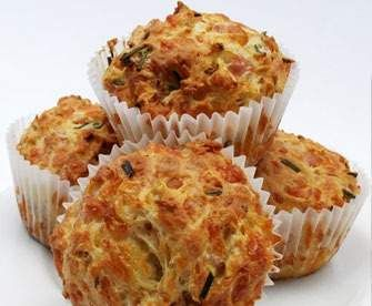 Recipe Cheesy Ham, Corn and Zucchini Muffins by bel2201 - Recipe of category Baking - savoury