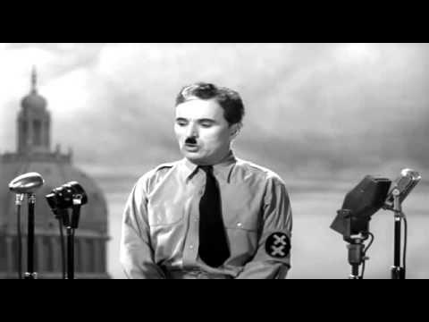 Der große Diktator - Abschlussrede