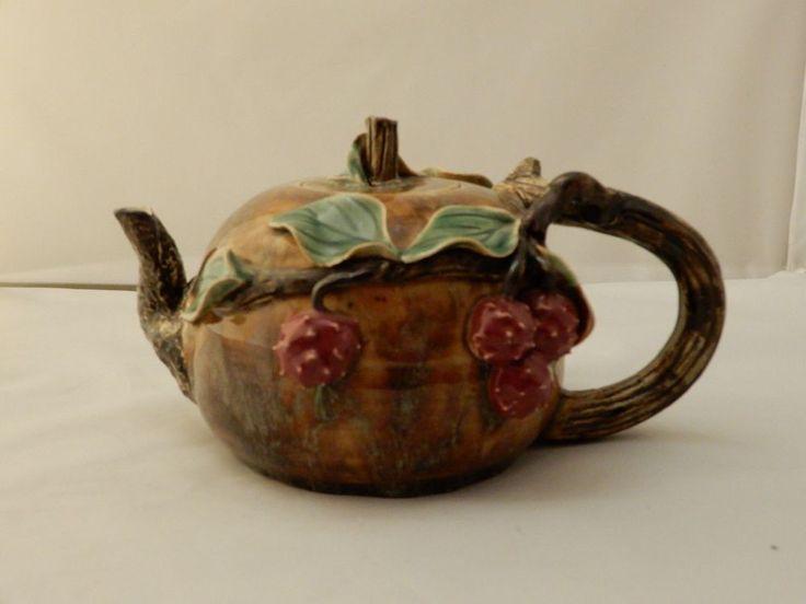 Kousa Dogwood Fruit Ceramic Teapot