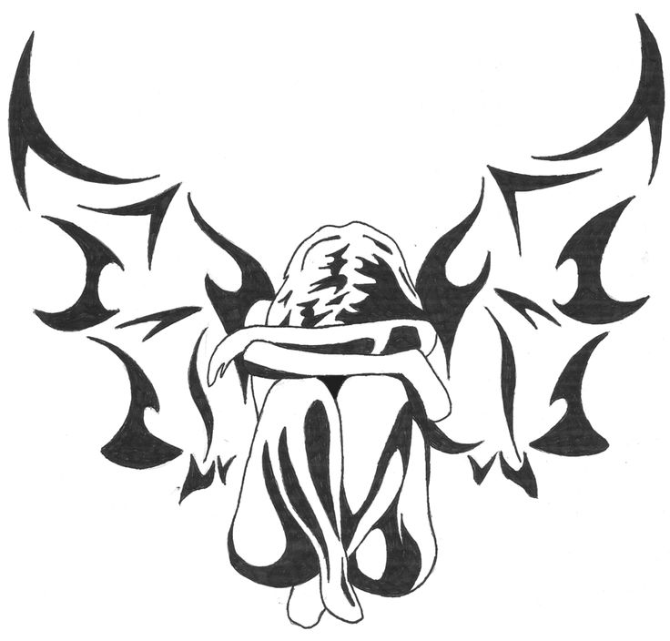 angels girls draw tribal design - Pesquisa Google
