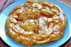 LE BONHEUR EST SANS GLUTEN : Recette sans gluten: tarte tatin aux pommes et au sucre d'érable