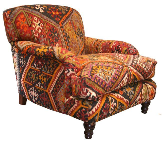 Old KIlim Istanbul Chair