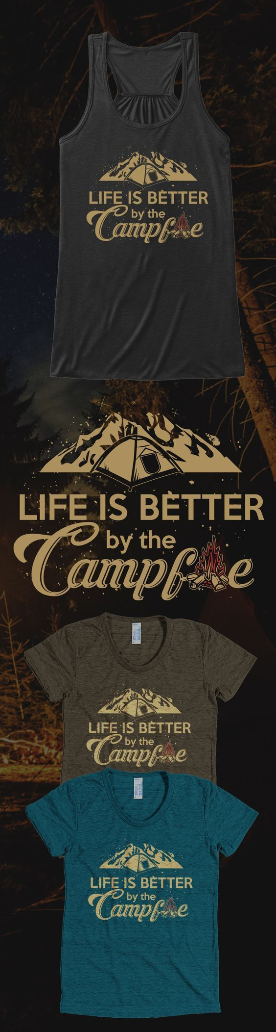Love camping? Check out this awesome camping t-shirt you will not find anywhere else. Not sold in stores and only 2 days left for free shipping! Grab yours or gift it to a friend, you will both love it :