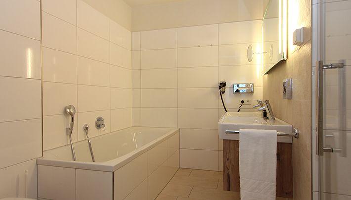 #bathroom - designer suite one bedroom