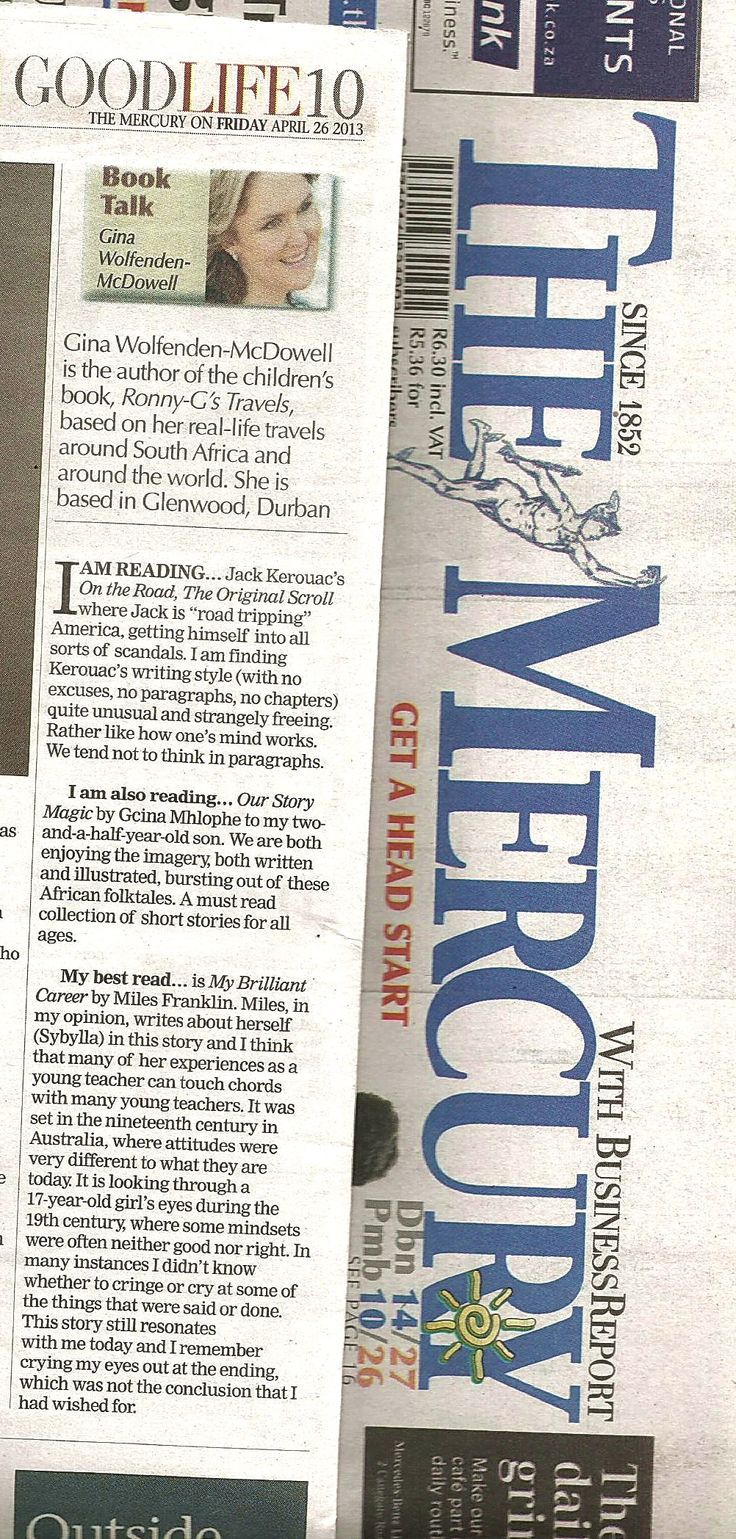The Mercury  ~ 26 April 2013