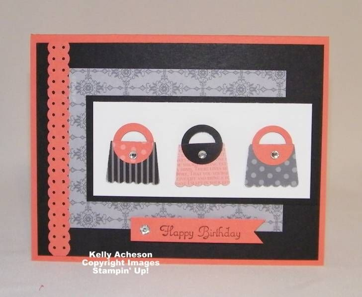 Cupcake Punch Purses: Cards Ideas, Miscellaneous Cards, Punch Purses, Birthday Cards, Punch Art, Cards Crafts, Cupcakes Rosa-Choqu, Pur Cards, Cupcakes Punch
