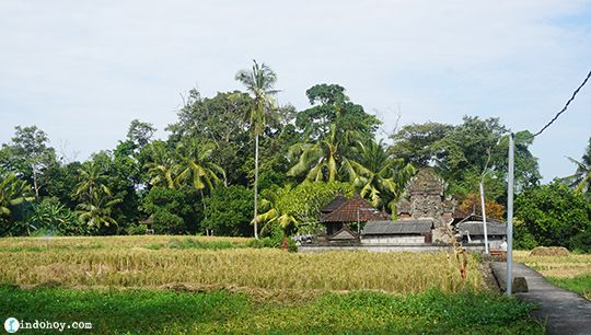 The temple that had to be moved because it kept on colapsing - Bali