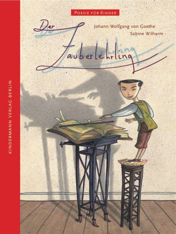 Der Zauberlehrling Bilderbuch Fur Kinder Ab 4 Jahre Poesie Fur Kinder Zauberlehrling Lehrling