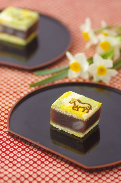 Japanese sweets for the year of the horse 2014