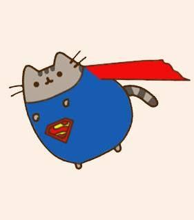Superpusheen al rescate! >:3 ¿A quién le han robado gashetas?