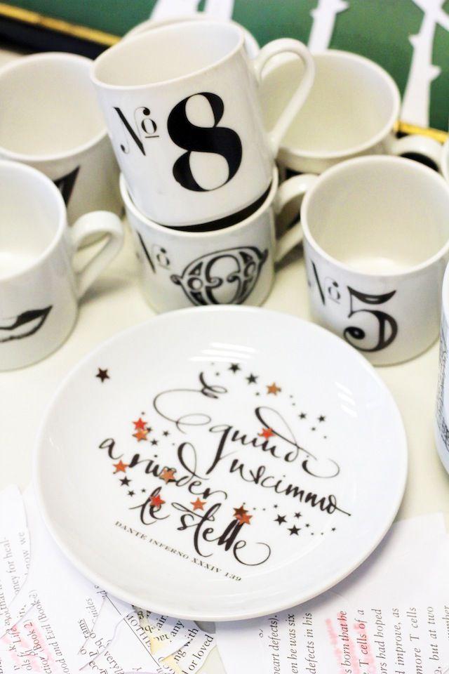 Betty Soldi calligraphy ceramics at The Hive 2014