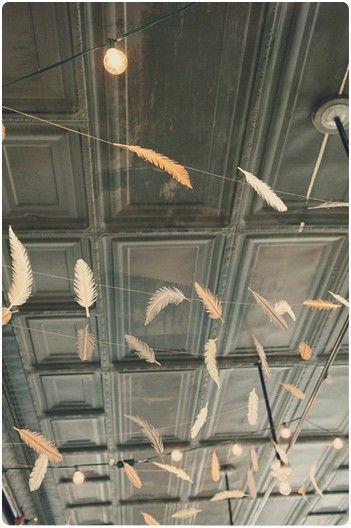 guirlandes plumes