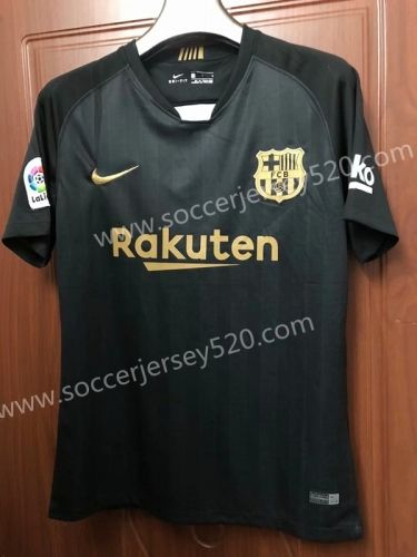 2018-19 Barcelona 2nd Away Black Thailand Soccer Jersey AAA ... 448819bfd6e21