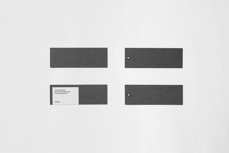 5works _ tag card