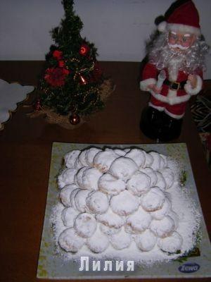 Курабьедес-греческое рождественское печенье : Кухня греческая и не только