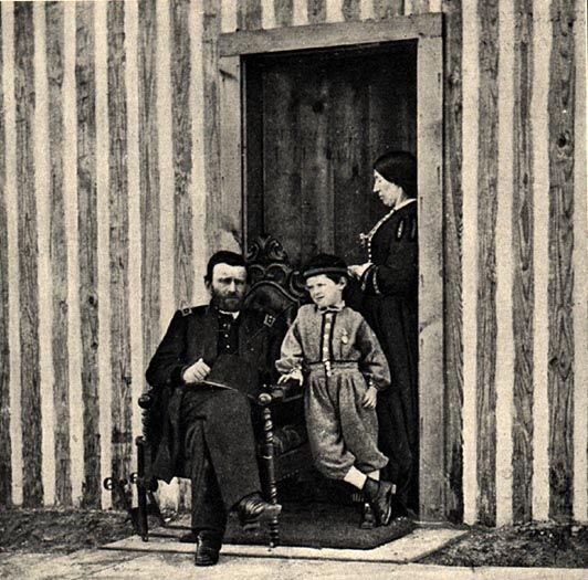 Image of Ulysses S. Grant and Family