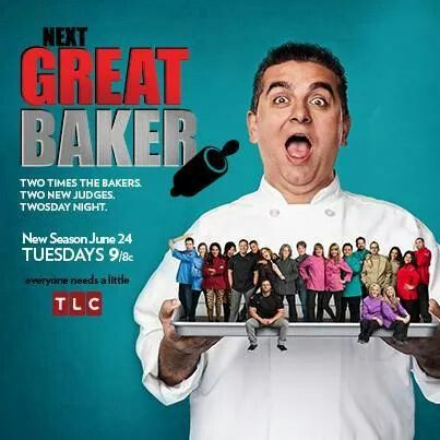 TLC's The Next Great Baker starring Buddy Valastro a.k.a. The Cake Boss Facebook post announces premiere of new 2014 season to start Tuesday, June 24, 9/8c.