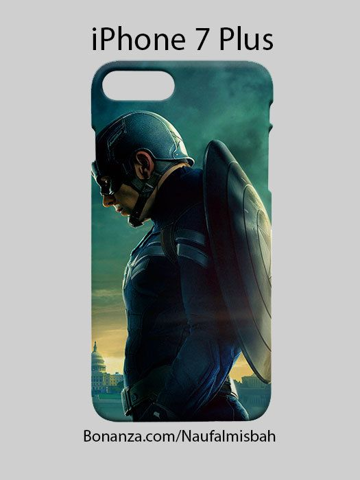 Captain America Marvel iPhone 7 PLUS Case Cover Wrap Around