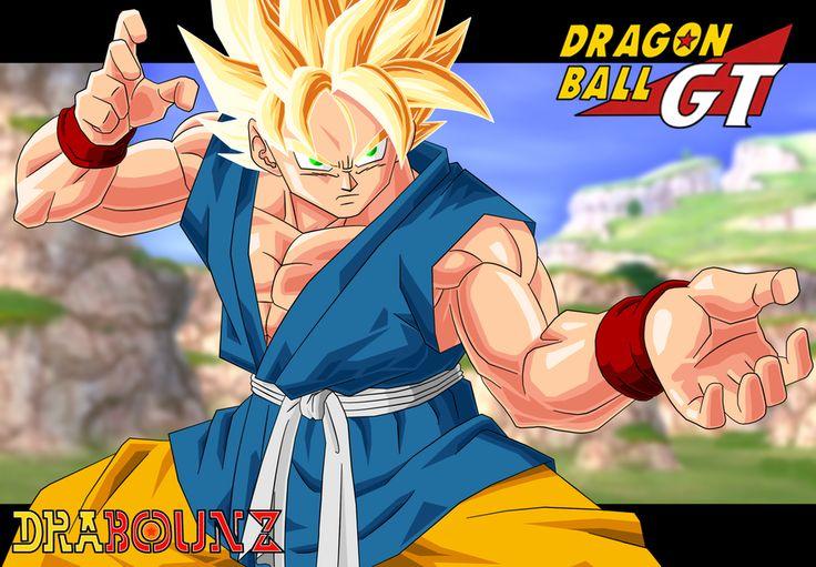 Son Goku Gt By Drabounz On Deviantart Dragonball