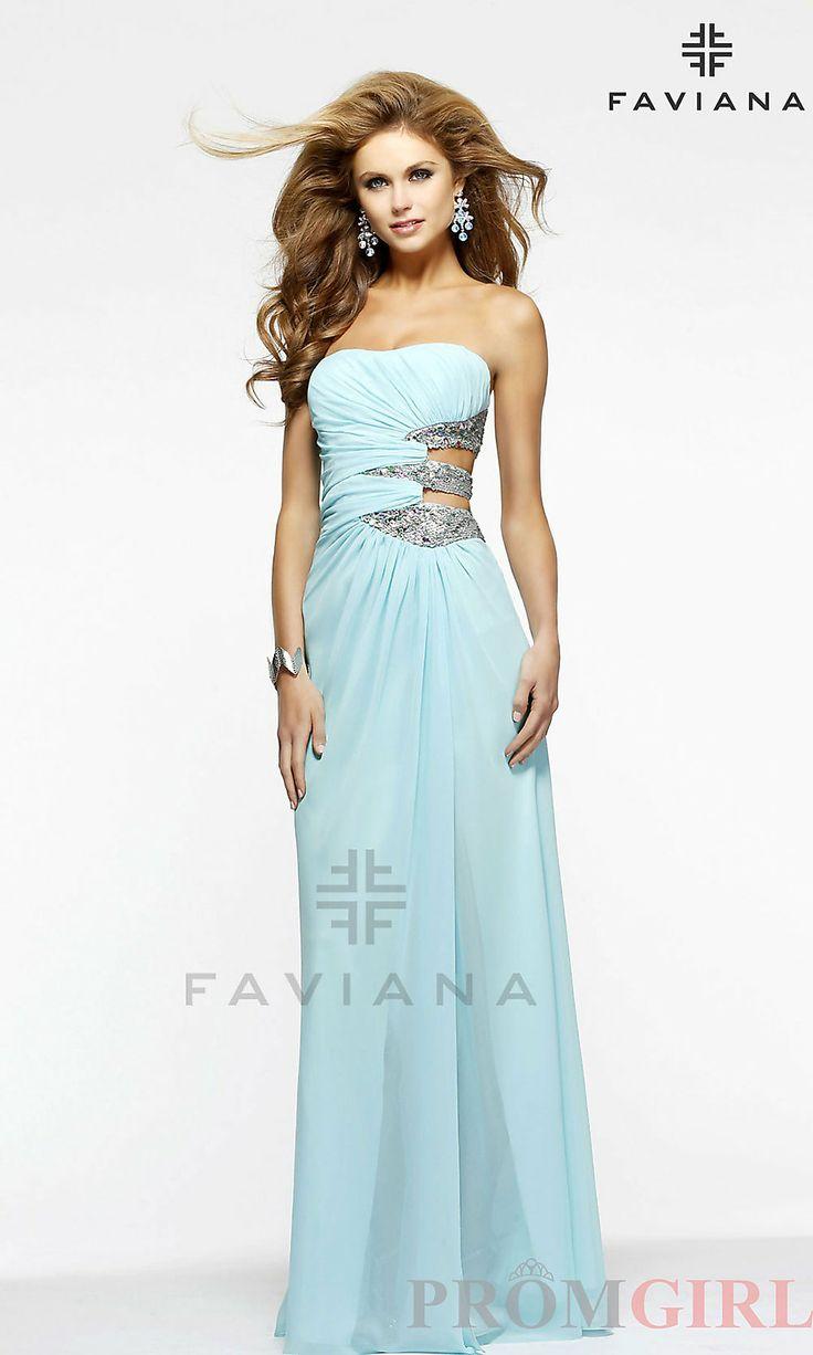 95 best Faviana Prom Dresses images on Pinterest | Formal evening ...