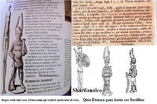 Shardana i Popoli del Mare (Leonardo Melis): SHARDANAROMANIETRUSCHI IL DOCUMENTO