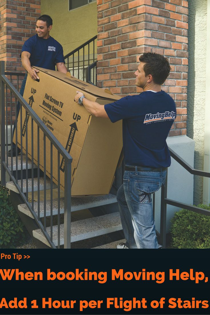 Pro Tip >> When booking your Moving Helpers, add 1 hour per flight of stairs! Select the services, crew size and hours you need for your move or home project. You will get an exact price when you hire your Moving Helper online. I Planning for a Move