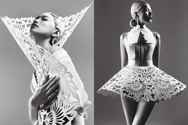 Harper's Bazaar China May 2012: Paper Sculpture - Fashion | Popbee - http://popbee.com/fashion/harpers-bazaar-china-may-2012-paper-sculpture/