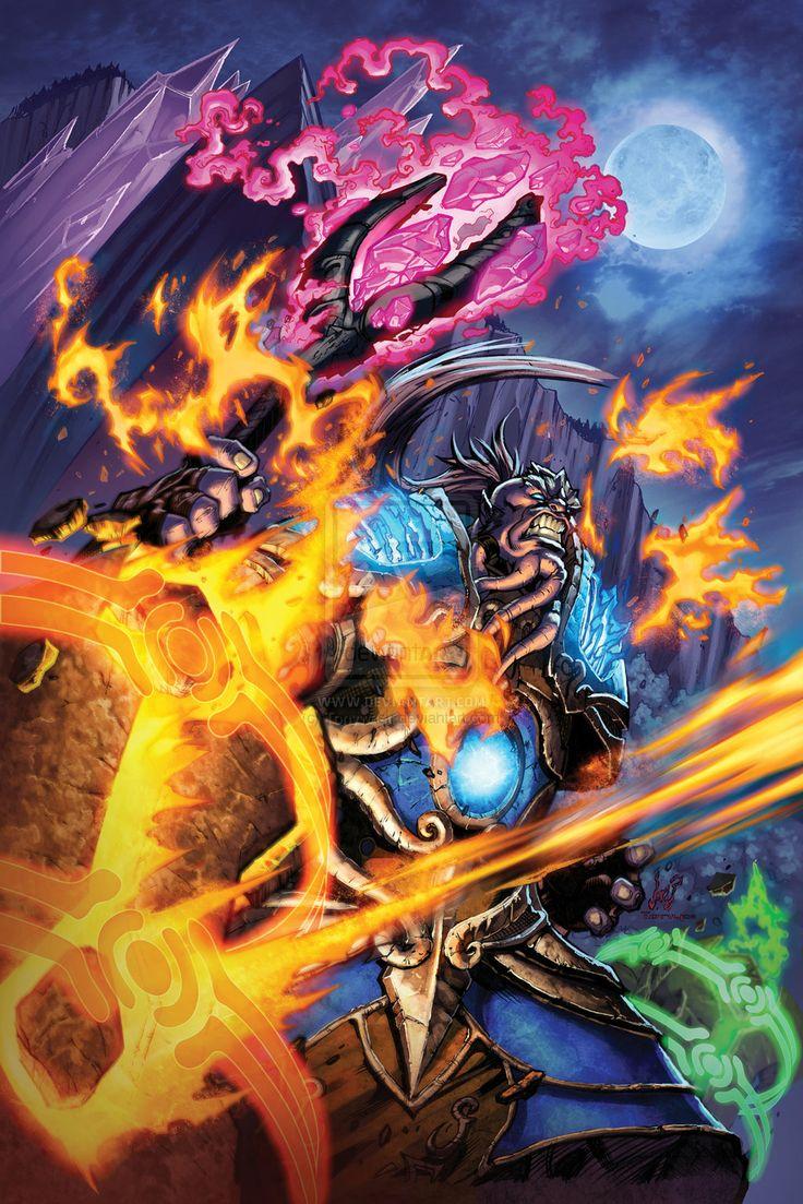 Warcraft Alliance Poster by Tonywash.deviantart.com on @deviantART