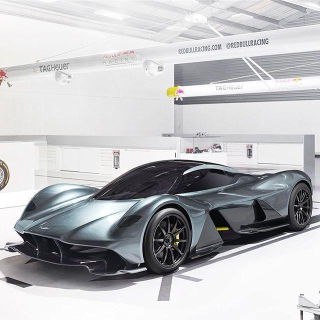 Aston Martin and @redbullracing unveil radical AM-RB 001 hypercar #AMRB001…