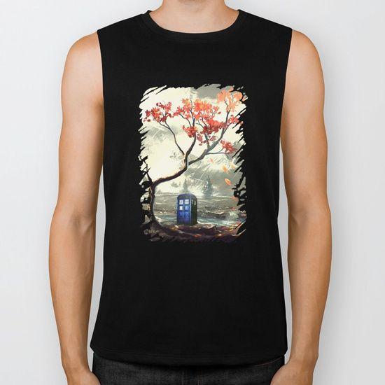 Tardis With A Tree - $28