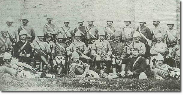 Gordon Highlanders; Officers, Sudan 1884