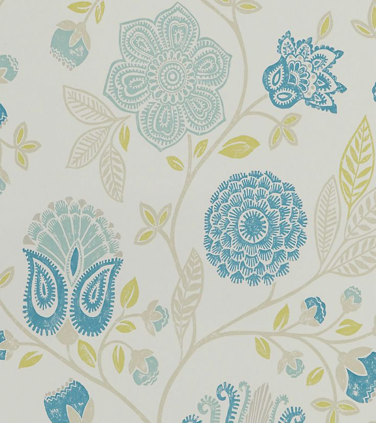 Teal, Duck Egg, Green And Blue Wallpapers : The Decorating Shop