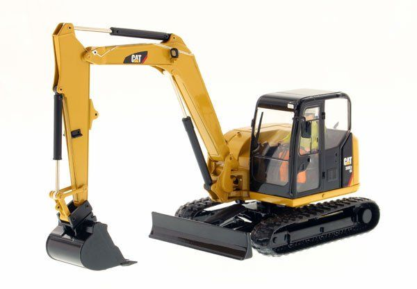 Official CAT Merchandise | Caterpillar 308E2 CR SB Mini Hydraulic Excavator plus Work Tools (8523 | Buy Online