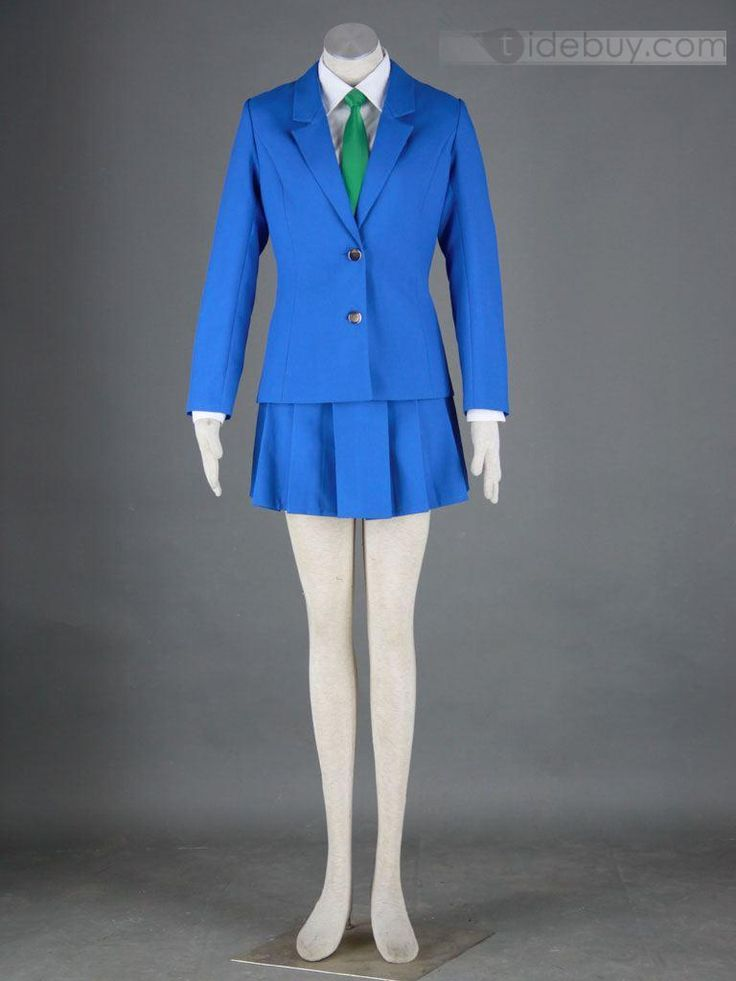 Detective conan/Case Closed Girls School uniforms cosplay costume for Sale