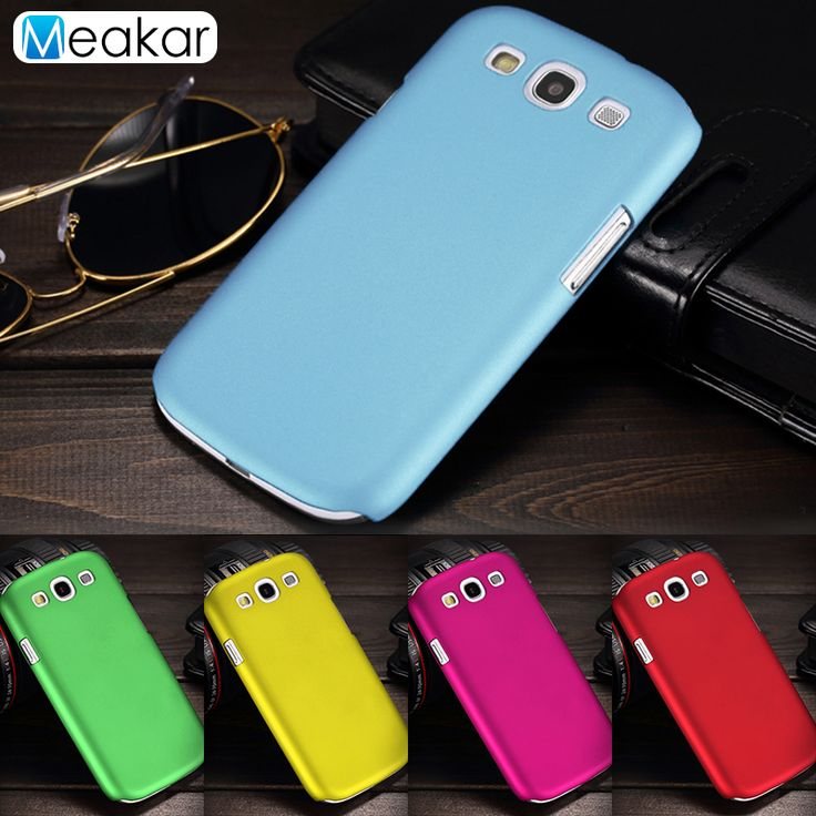 Grind arenaceous Hard Plastic shell 4.8for Samsung Galaxy S3 Case For Samsung Galaxy S3 i9300 Cell Phone back Cover Case