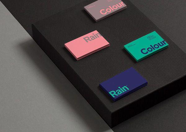 Visual & Brand Identity - Colour Rain, Denmark by Nicolas Fuhr