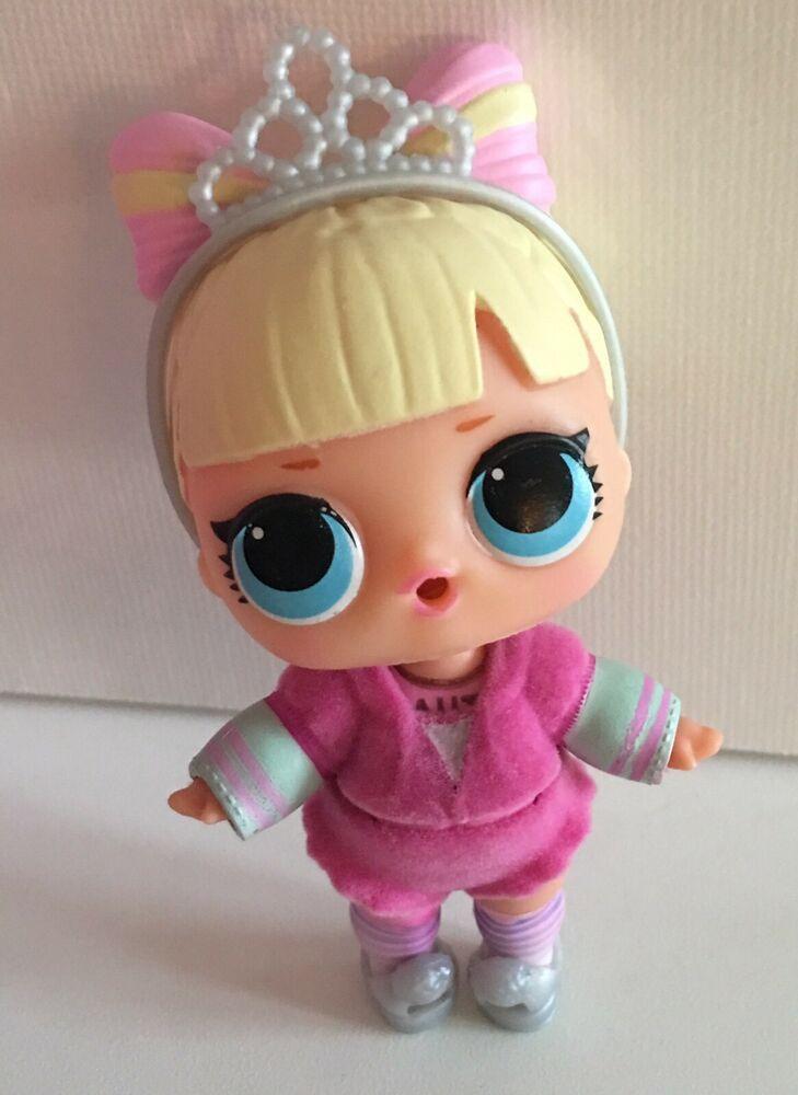 LOL Surprise Series 4 Under Wraps BIG+LIL SUITE PRINCESS Sisters Set~2 Dolls Lot