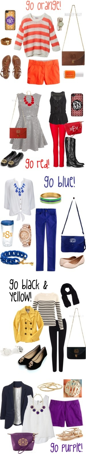 """""""Marley Lilly Game Day Fashions"""" by marleylilly on Polyvore"""