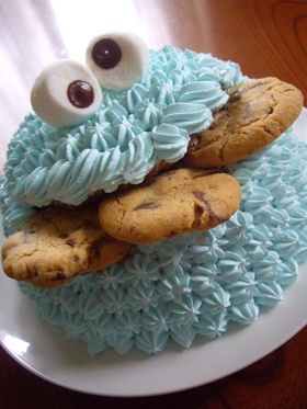 Cookie Monster Cake!