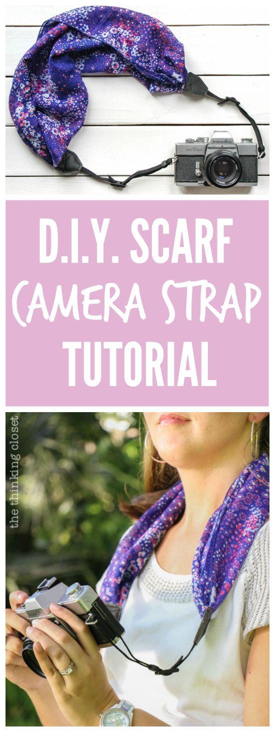 best 25+ diy camera strap ideas on pinterest | scarf camera straps