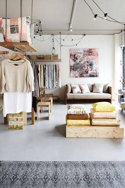 this is so creative. It is more than just a closet,