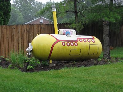 The best looking propane tank I've ever seen! Almost makes me wish we had propane.