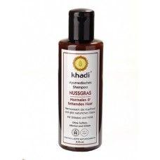 Khadi Nutgrass Шампунь для нормальных/жирных волос, 210 мл