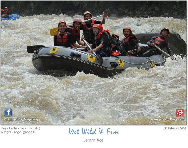 Terimakasih atas kepercayaan dan kunjungannya Sobat Progo dari SMA 1 Indramayu..  Sampai bertemu dikegiatan selanjutnya^^ lihat album lengkapnya http://on.fb.me/2159Nld  Reservasi  WA : 081511118089  Arung Jeram Magelang , Progo  Rafting , Atv , Paintball, Highropes , Flying Fox , Smart Outbound