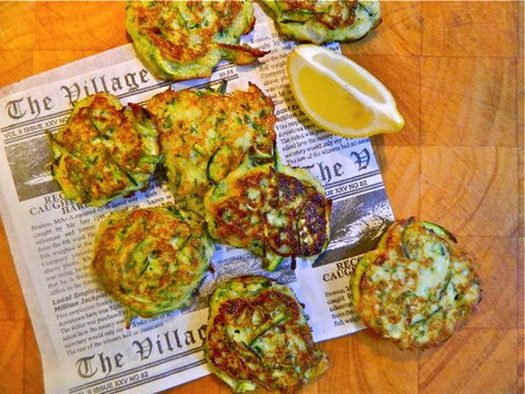 Zucchini Fritters | The Official Site for Carla Hall - Co-Host of ABCs The Chew