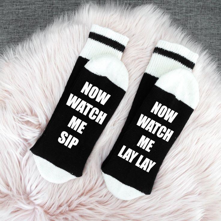 04 - Wine/Beer Socks, Bring me Wine Socks, Funny Socks womens, If you can read this socks, Custom Socks, Mens Socks, Wine Socks, Womens Sock by SOCKDirtyToMe on Etsy https://www.etsy.com/ca/listing/475964255/04-winebeer-socks-bring-me-wine-socks