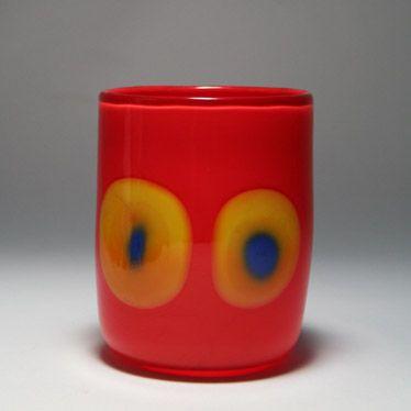 Nuutajärven Lasi, Finland - Heikki Orvola, Unique vase