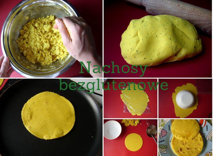Nachosy bezglutenowe z mąki kukurydzianej.